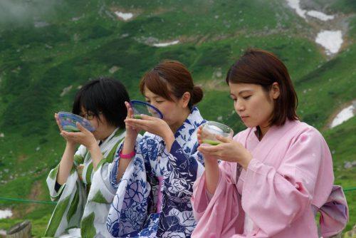 立山散策~大自然の中でお茶を楽しもう~